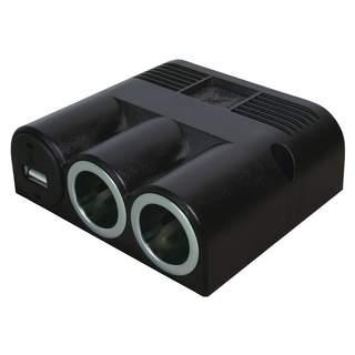 Zabudovateľná trojitá zásuvka s USB