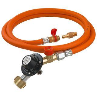 Plynová hadica s regulátorom pre napojenie do plynovej kartuše