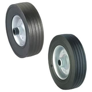 Náhradné oceľové koleso z pevnej gumy