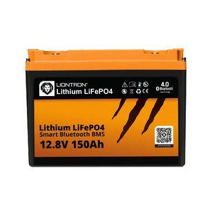 LIONTRON LiFePO4 12,8V 150Ah LX Smart BMS s Bluetooth
