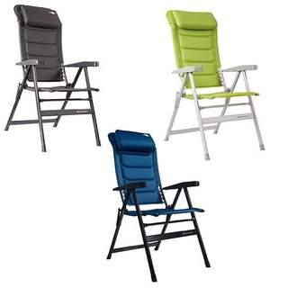 Kempingová stolička HighQ Comfortable Blackline