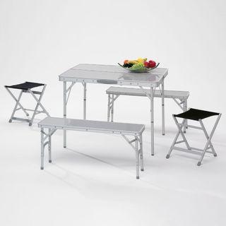 Piknikový stôl hliníkový