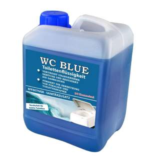 WC Blue koncentrát 2,5l