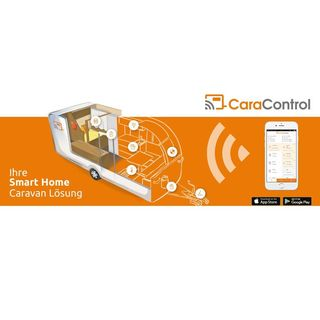CaraControl inteligentná domácnosť pre karavan
