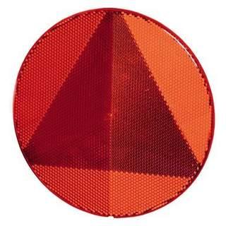 Hella trojuholníková odrazka guľata, samolepiaca