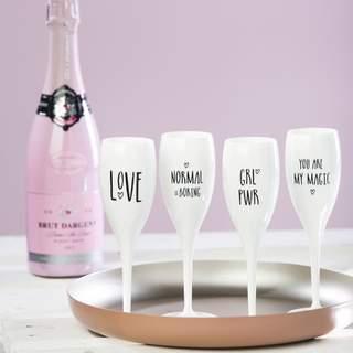 Sada pohárov na šampanské CHEERS