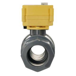 Elektrický systém guľových ventilov LILIE GrauGELB
