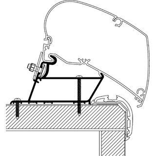 Strešný adaptér Carthago Malibu