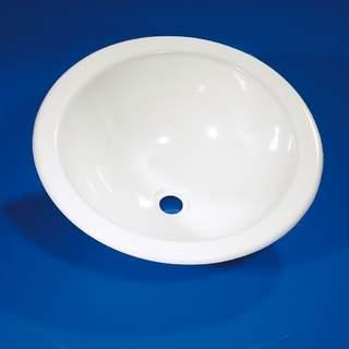 Plastové umývadlo guľaté