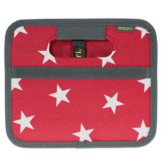 Skladacia krabica Meori Mini, ibišteková červená, hviezdičky