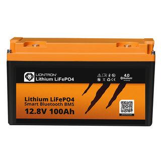 LIONTRON LiFePO4 12,8V 100Ah LX Smart BMS s Bluetooth
