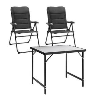 Kempingová súprava Compact- 2 stoličky a 1 stôl