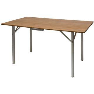Skladací stôl z bambusu