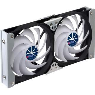 Dvojitý ventilátor pre chladničky Titan 92 mm