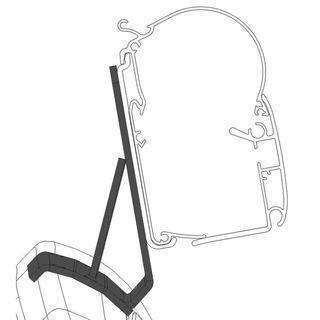 Adaptér pre markízy Dometic PW 1100, 1500 pre minivany PSA
