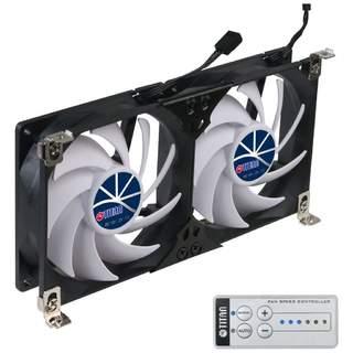 Dvojitý ventilátor chladničky Titan SC22