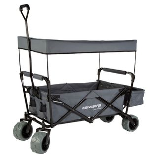 Skladací plážový vozík