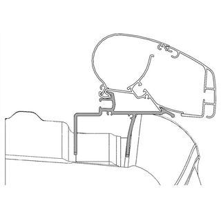 Adaptér pre markízy Dometic PR 2000, 2500 pre VW Crafter