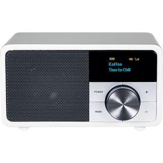 Digitálne rádio DAB + 1 mini, strieborné