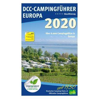 DCC Sprievodca kempov Európa