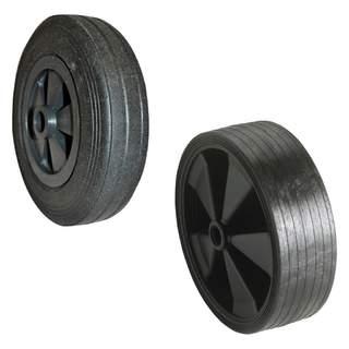 Náhradné koleso z pevnej gumy a plastu