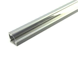 Hliníková rohová lišta na LED pás