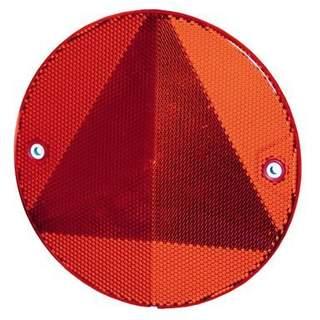 Hella trojuholníková odrazka guľata, skrutkovacia