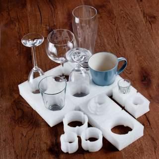 Úložný priestor na poháre