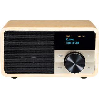 Digitálne rádio DAB + 1 mini, svetlé drevo