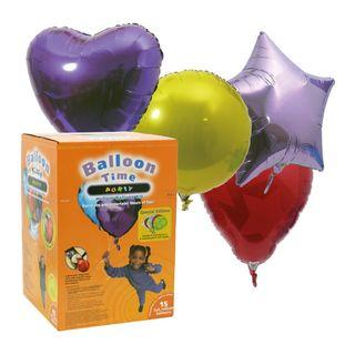 Set s balónmi rôznych veľkostí
