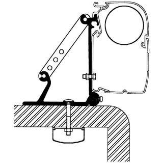 Univerzálny strešný adaptér