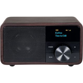 Digitálne rádio DAB + 1 mini, tmavé drevo