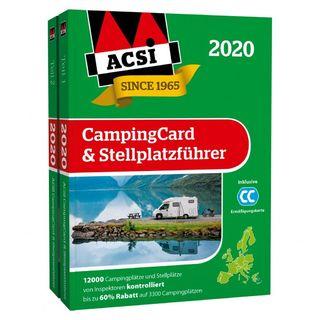 ACSI karta & sprievodca stellplatzov