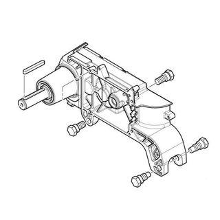 Ozubené koleso s tesnením a poistným krúžkom B