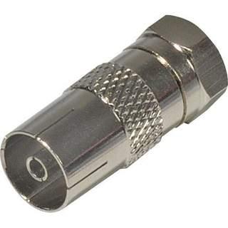 F koaxiálny konektor spojky