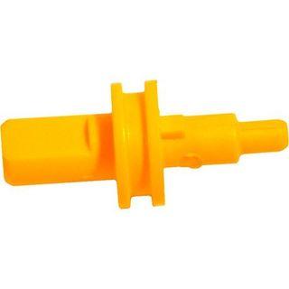 Dometic náprava pre termostat otočného gombíka, žltá, pre chladničky RM 7XX1, 7XX5 a RMT 7XX1, 7XX5