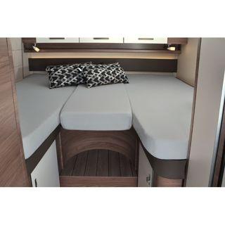 Poťah 3-dielna súprava, silber pre zadnú posteľ