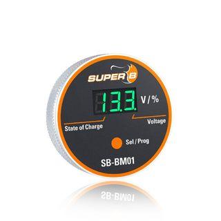 Zobrazenie kapacity batérie SB-BM01