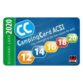 Zľavová karta ACSI CampingCard EN