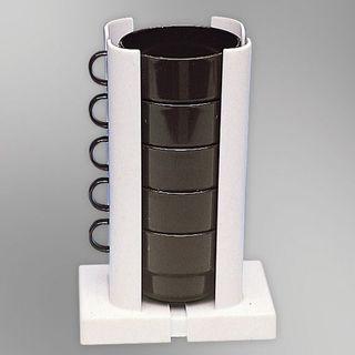 Úložý držiak na poháre